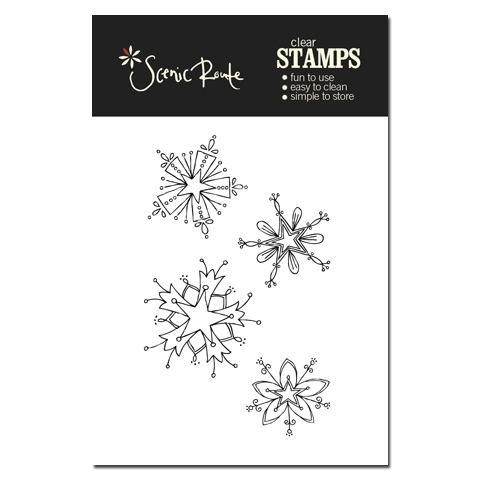 SRA012_A_Snowflake_Clear_stamp_backer