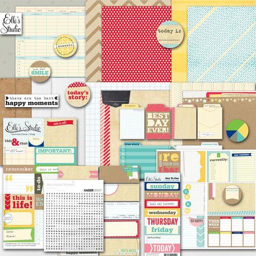 Project life kit marzo