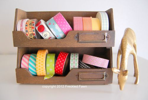Washi Tape Drawer - Freckled Fawn