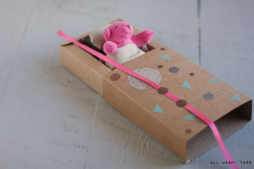Washi-tape-self-packaging