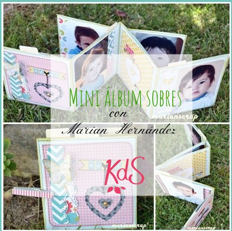 Mini album sobres Marian