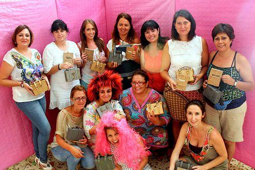 las chicas con Cristina Perramón