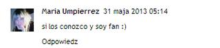 Comentario María Umpierrez