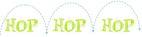 Hop,hop, hop