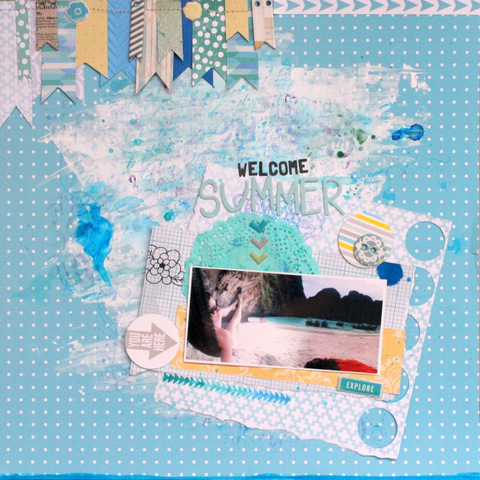 KdS Blog Hop_Welcome Summer_Xènia