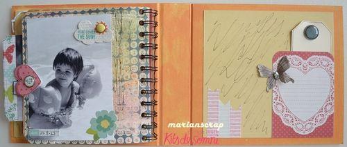 Inspirate kit plus agosto 2013 KdS. Marian. Mini álbum  14