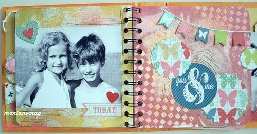 Inspirate kit plus agosto 2013 KdS. Marian. Mini álbum  01