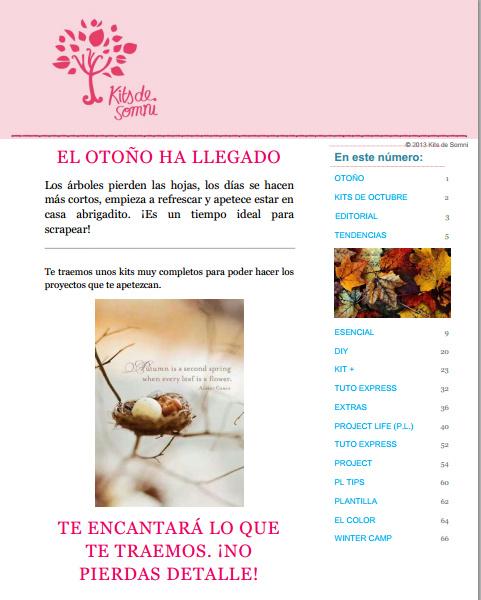 Revista de Octubre 2013 KdS