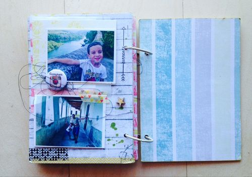 Mireia Mini Scrapbook Album 01