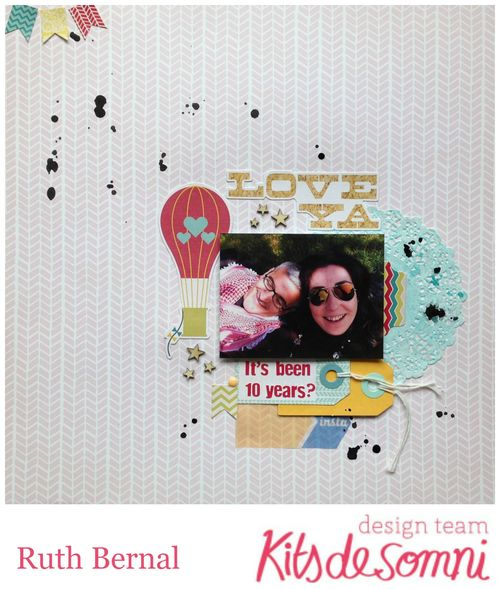Inspirate kit plus septiembre kds Ruth 14