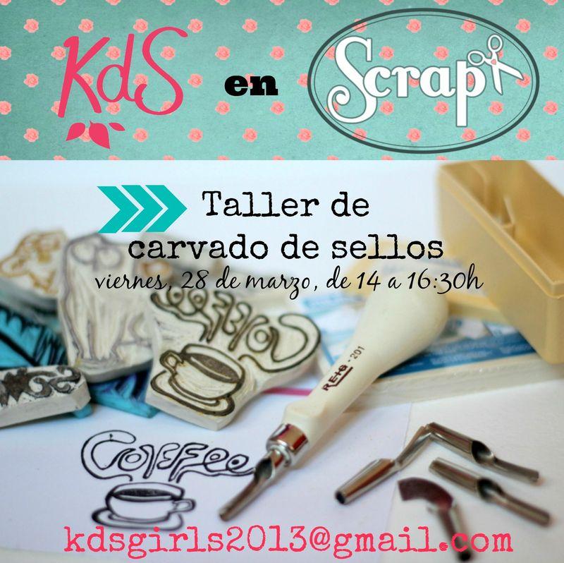 Taller KdS - Carvat de segells Feria ScrapPlus