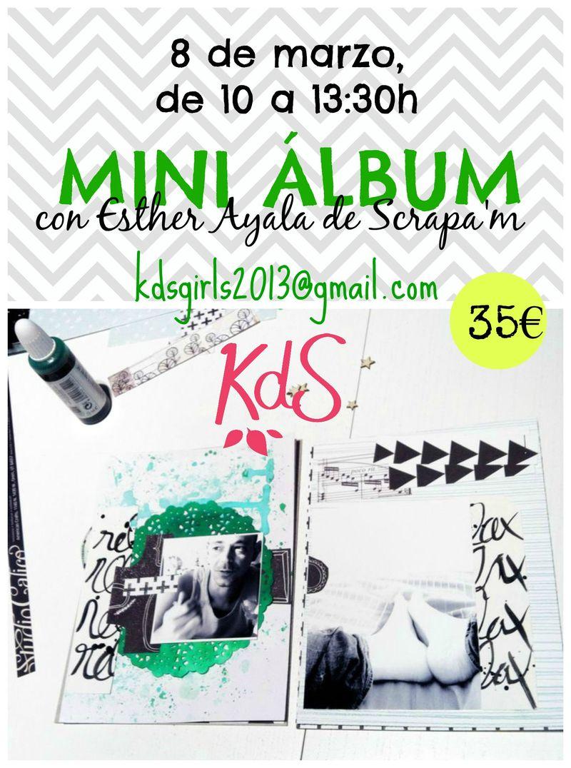 Taller Esther Ayala con KdS2 precio
