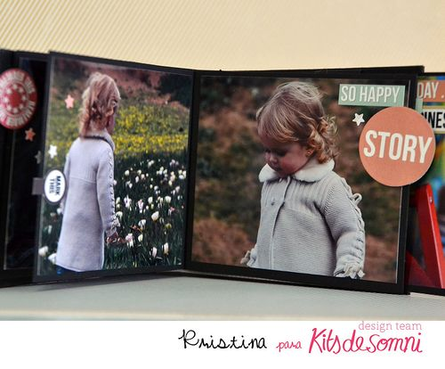 Kit + Abril 2014 kds album flip 000 Kristina Miguel