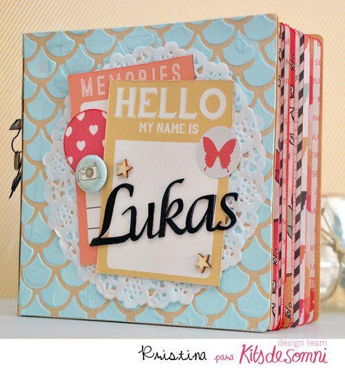 Kit + Abril 2014 kds album Lukas Kristina Miguel