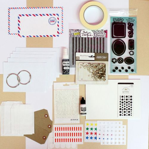 Kit Art Journal Marzo 2014 KdS
