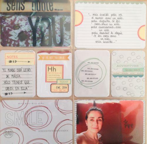 Inspírate Kit Project Life Enero 2014