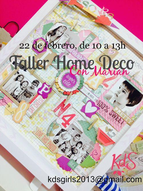 Taller Home Deco Kds Marian