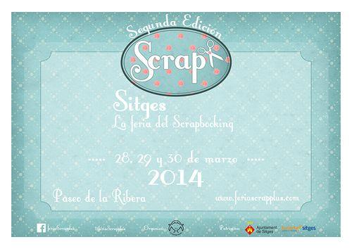 Cartel  feria Scrap+ 2014