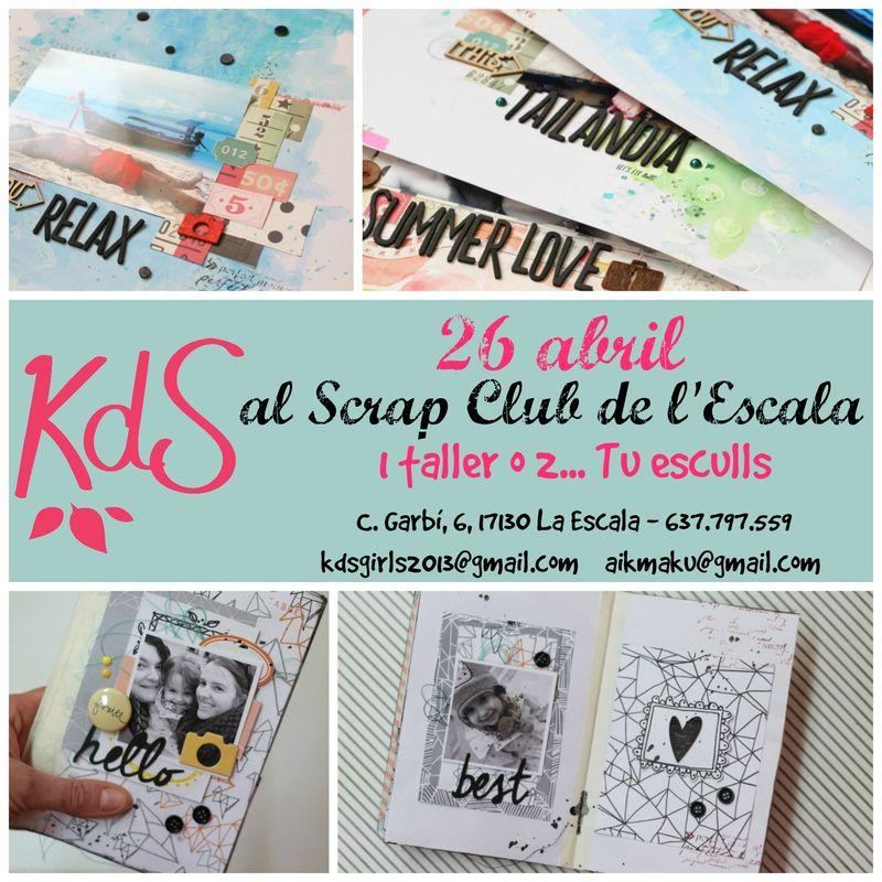 Cartell Taller Scrap Club Escala_català3